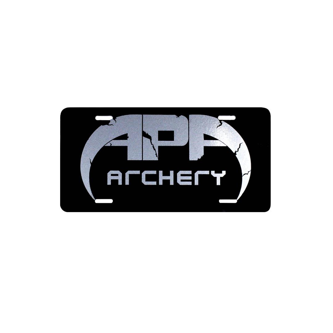 APA License Plate
