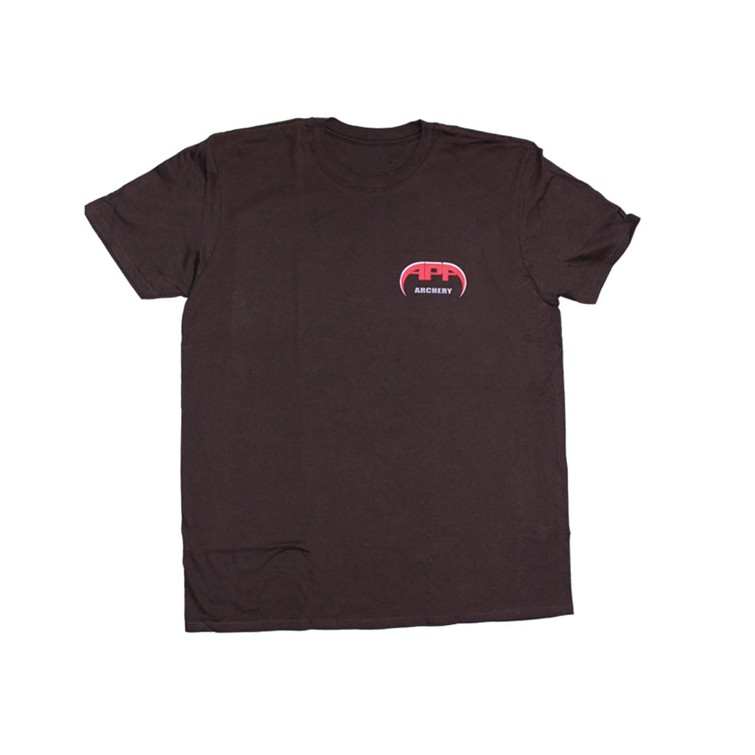 APA TShirt Brown front