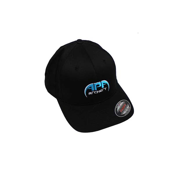 APA Black Hat Blue Logo Flex Fit