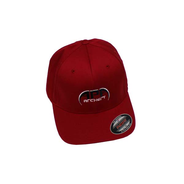 APA Red Hat Black Logo Flex Fit
