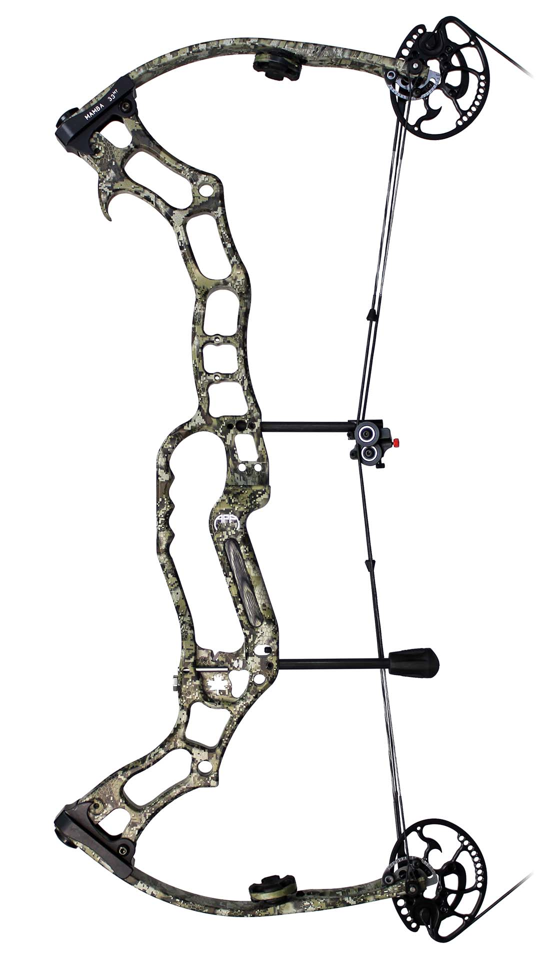 APA Mamba 33 MT Compound Bow - Side View Image