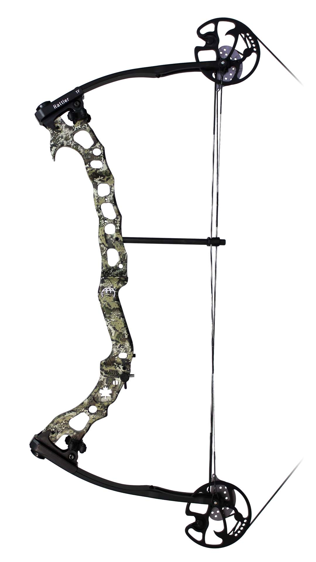 APA Rattler TF Compound Bow - Side View Image