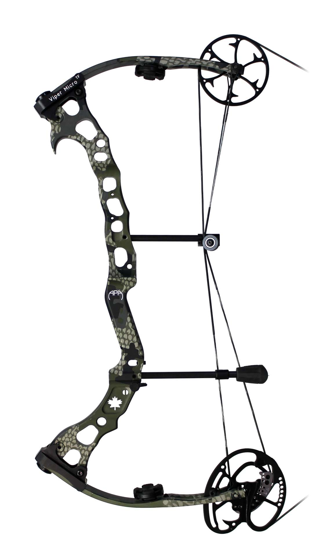 APA Viper Micro TF Compound Bow - Side View Image