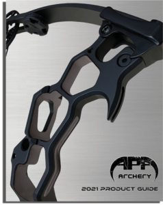 APA Archery 2021 Product Catalogue cover