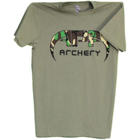 APA Green Camo Logo T-Shirt